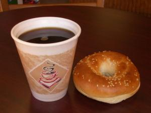 coffee & bagel