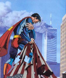 9-11-Superman flag
