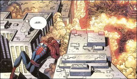 9-11 Spiderman