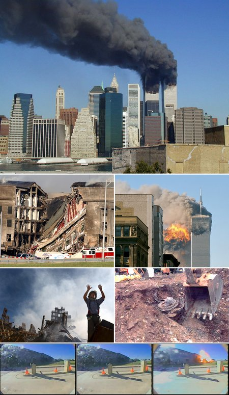 September 11 Photo Montage (Wikipedia)