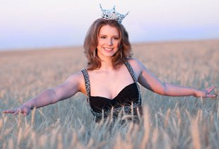 Miss Montana 2012 Alexis Wineman, photo courtesy of the Wineman Family