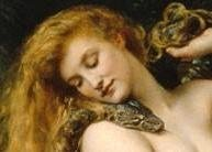 John Collier- Lilith - detail