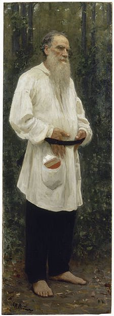 Tolstoy by Repin 1901