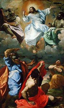 The Transfiguration Lodovico Carracci 1594