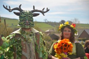 Pagan Wiccan Wicca England Britain Green Man May Queen