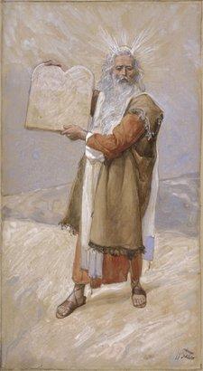 Tissot Moses and the Ten Commandments, c. 1896-1902