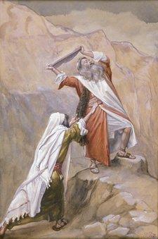 Tissot Moses Destroys the Tables of the Ten Commandments, c. 1896-1902