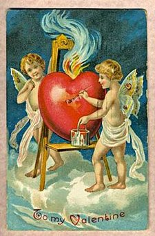 Antique Valentine 1909 01