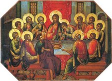 Simon Ushakov, Last Supper, 1685